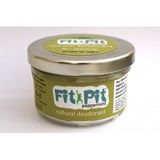 Fit Pit Organic Natural Deodorant - Peppermint-Deodorant-Wild Earth Beauty