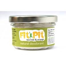 Fit Pit Organic Natural Deodorant - Tea Tree & Orange-Deodorant-Wild Earth Beauty