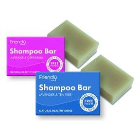 Friendly Soap Shampoo Bars
