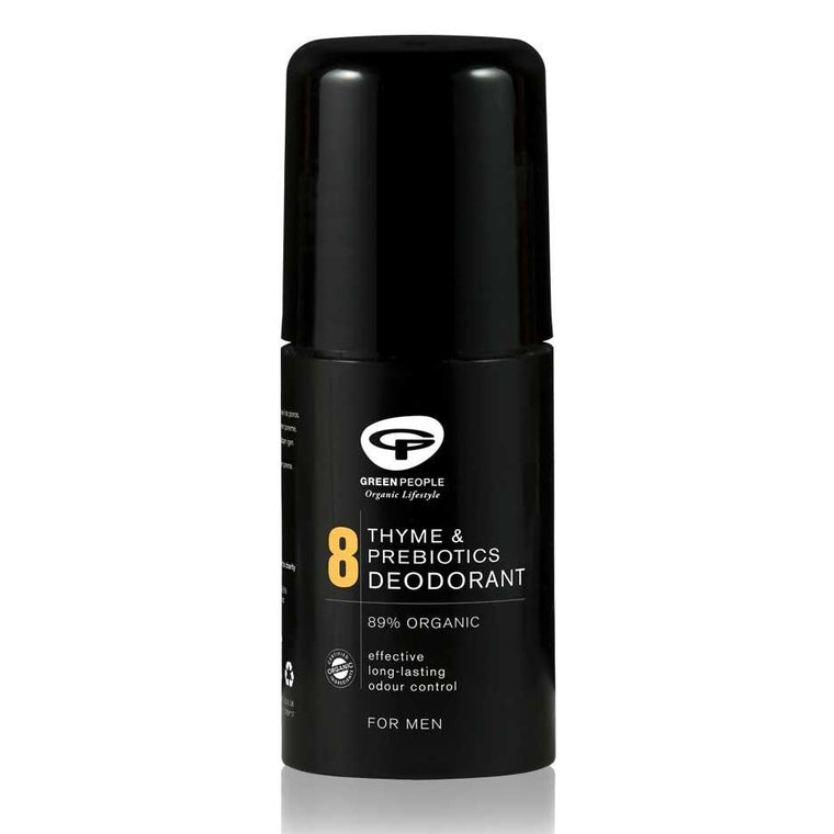 Green People For Men No 8. Thyme & Prebiotic Deodorant 75ml