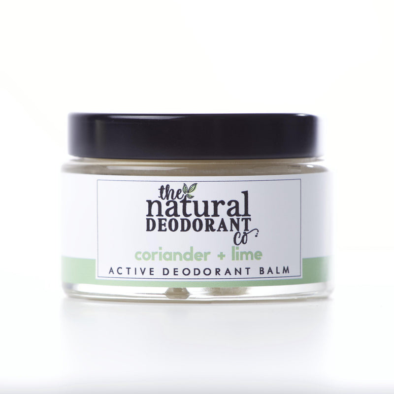 Natural Deodorant Co. Active Deodorant Balm Coriander & Lime-Deodorant-Wild Earth Beauty