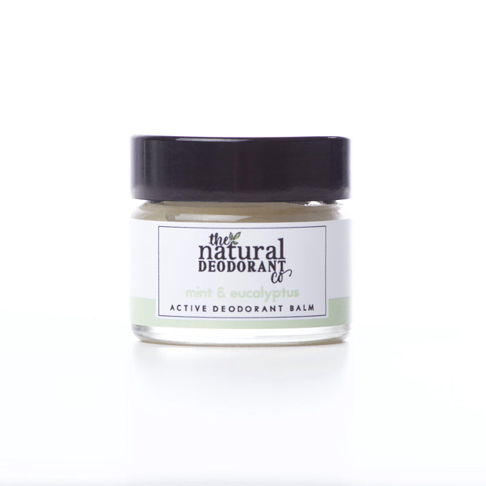 Natural Deodorant Co. Active Deodorant Balm Mint & Eucalyptus-Deodorant-Wild Earth Beauty