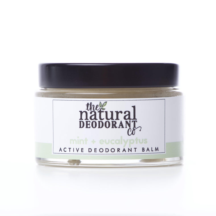 Natural Deodorant Co. Active Deodorant Balm Mint & Eucalyptus