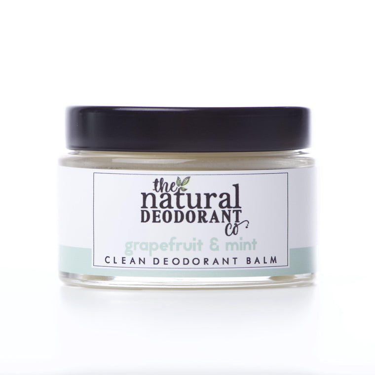 Natural Deodorant Co. Clean Deodorant Balm Grapefruit & Mint