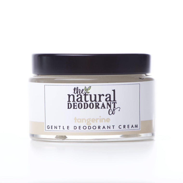Natural Deodorant Co. Gentle Deodorant Cream Tangerine