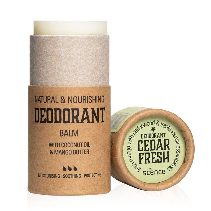 Scence Cedar Fresh Deodorant Balm-Deodorant-Wild Earth Beauty