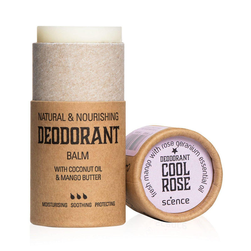 Scence Cool Rose Deodorant Balm-Deodorant-Wild Earth Beauty