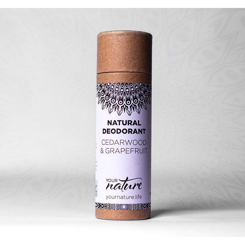Your Nature Cedarwood & Grapefruit Deodorant Stick 70g-Deodorant-Wild Earth Beauty