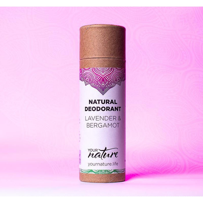 Your Nature Lavender & Bergamot Deodorant Stick 70g-Deodorant-Wild Earth Beauty