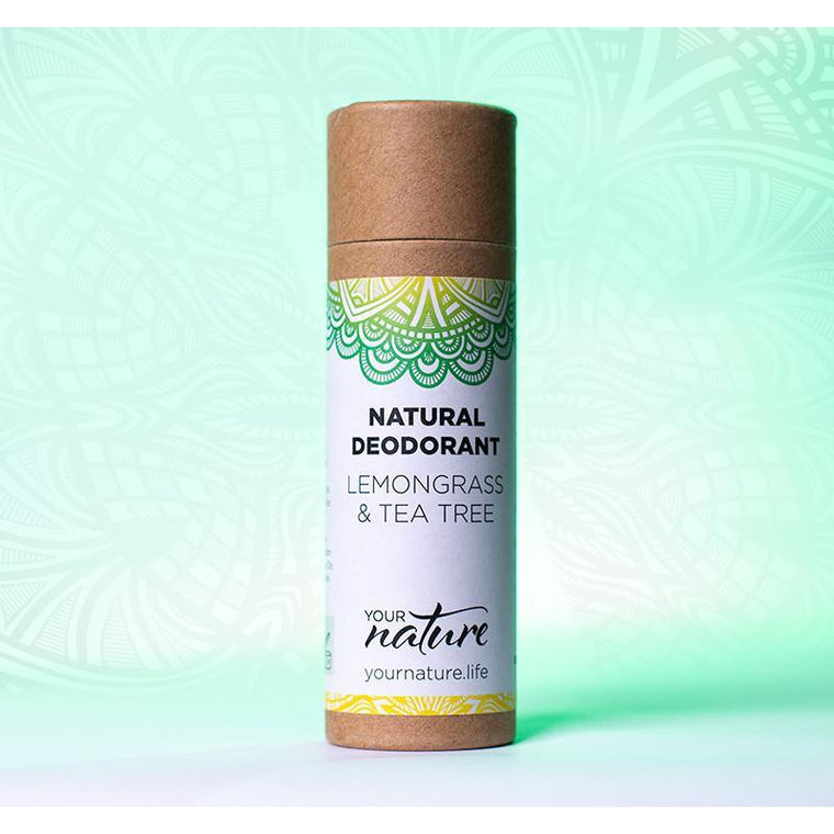 Your Nature Lemongrass & Tea Tree Deodorant Stick 70g