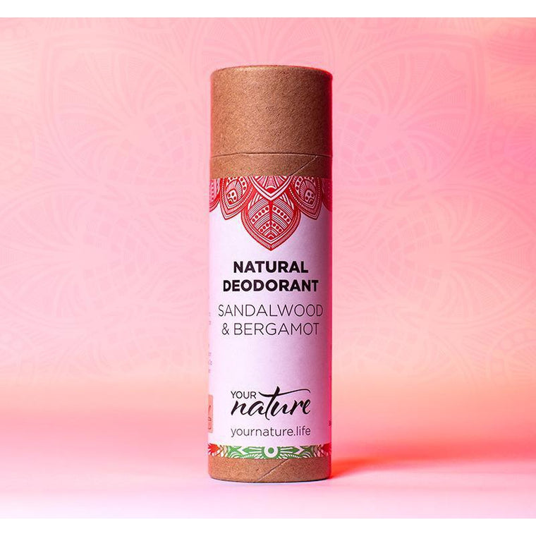Your Nature Sandalwood & Bergamot Deodorant Stick 70g