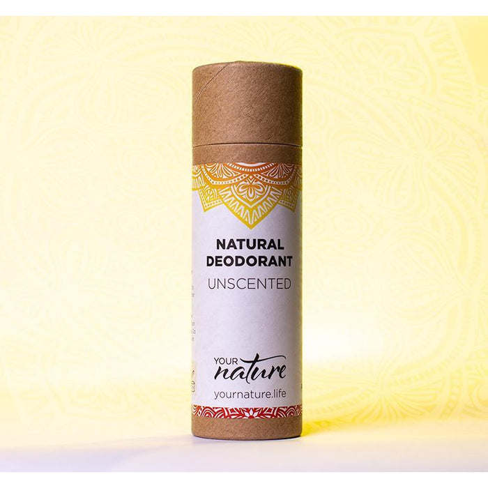 Your Nature Unscented Deodorant Stick 70g-Deodorant-Wild Earth Beauty