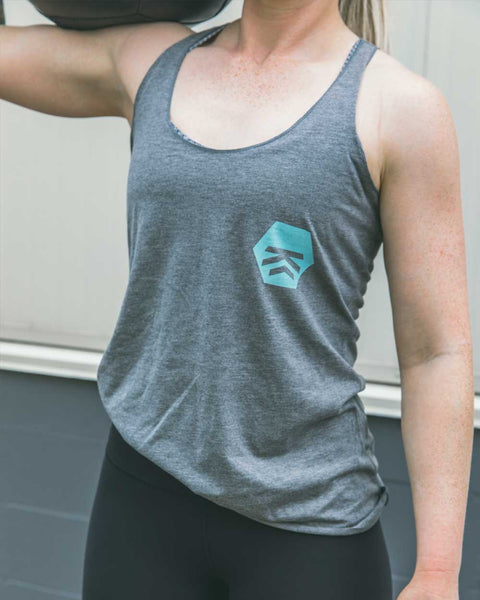 Badge Women's Tank (Teal)