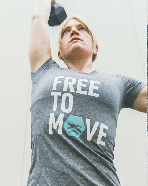 Free to Move Women's Tee (Teal)