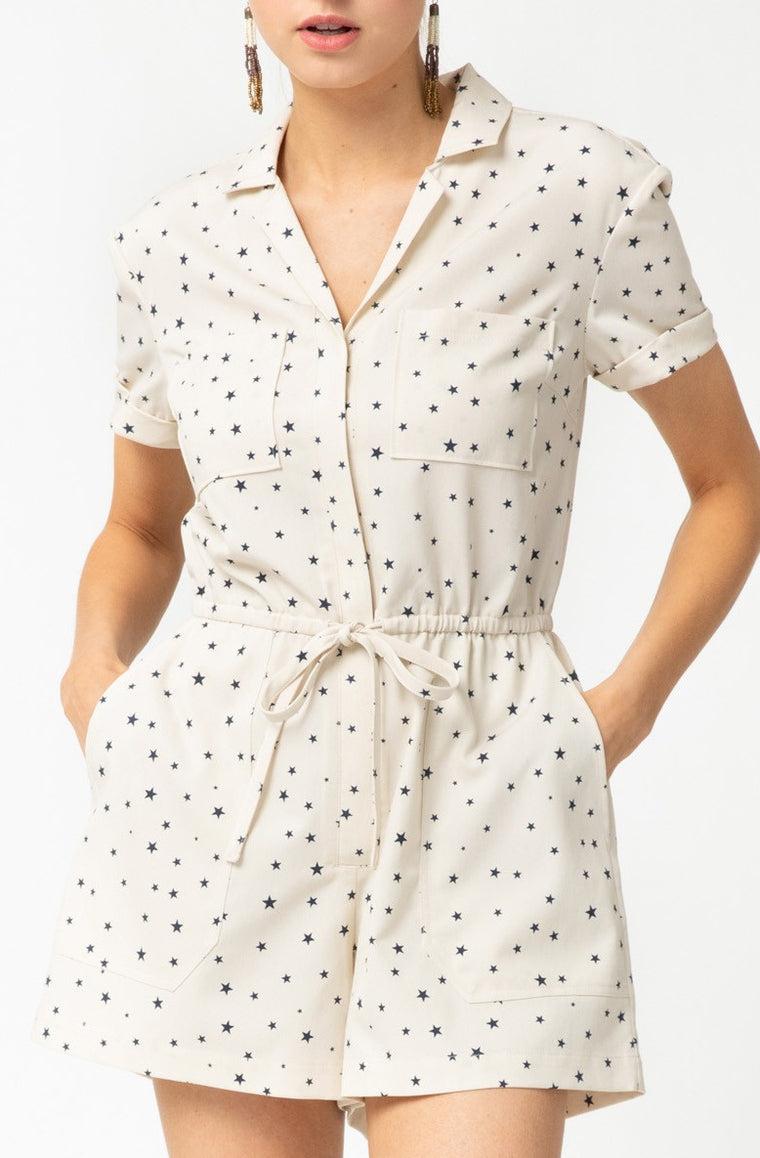 DAZED AND STAR STRUCK ROMPER