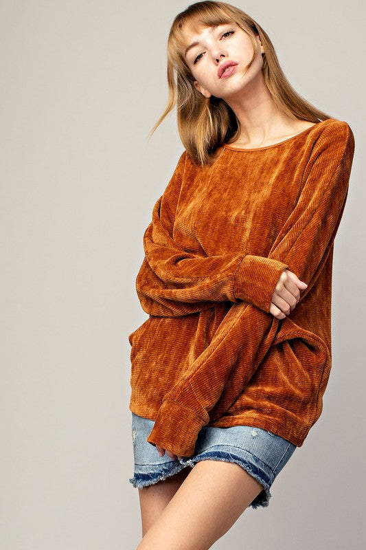 TERRACOTTA LOVE SWEATER