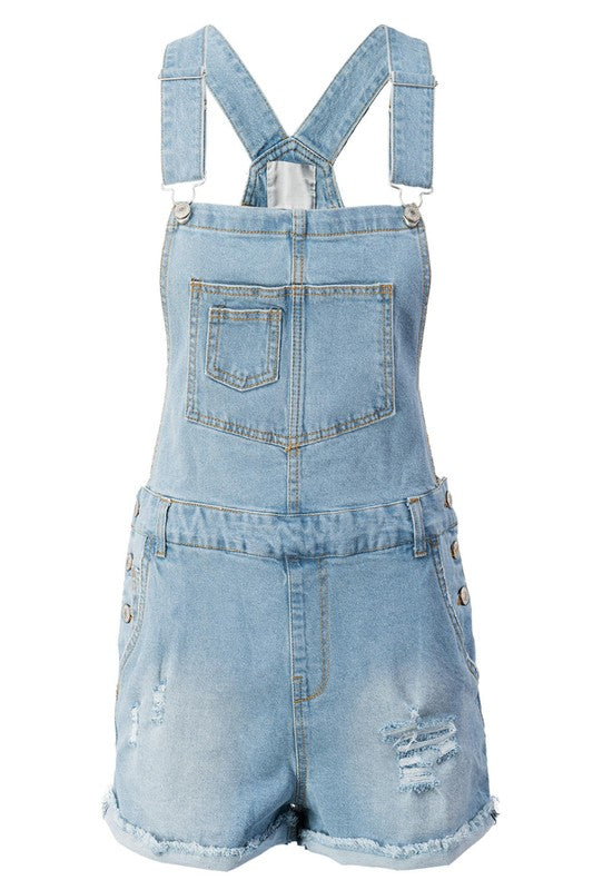 SPRING INTO SUMMER DENIM OVERALLS