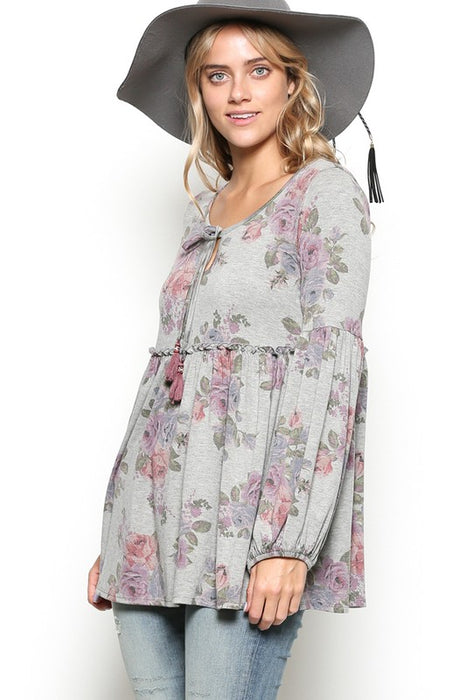 OH SO HEAVENLY BABY DOLL TOP