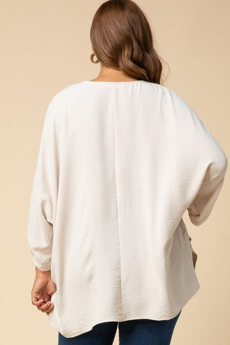 BEYOND REASON BUTTER SOFT DOUBLE POCKET SWEATER