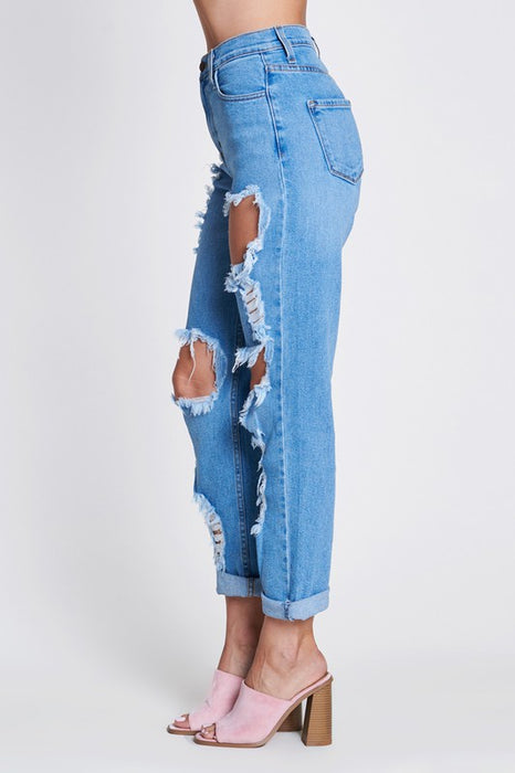 FEARLESS HIGH RISE JEANS