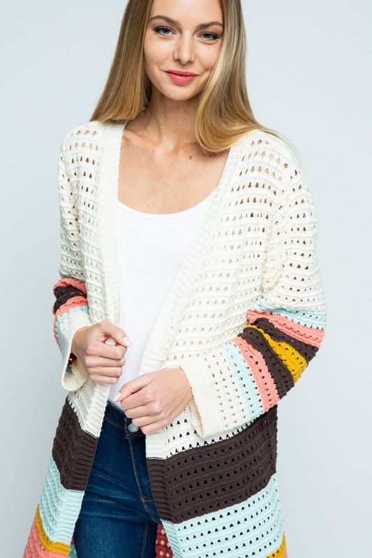 SPRING YOUR LOVE ON ME CARDIGAN