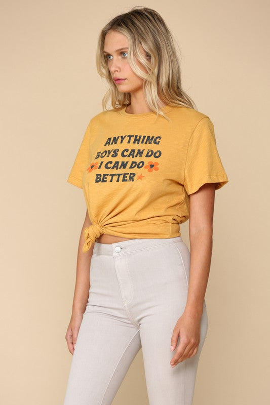 I CAN DO BETTER GRAPHIC TEE
