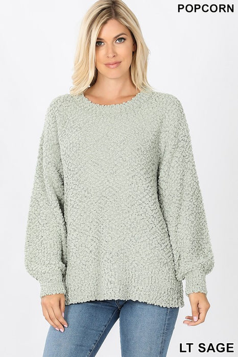 POPPING INTO SPRING SWEATER
