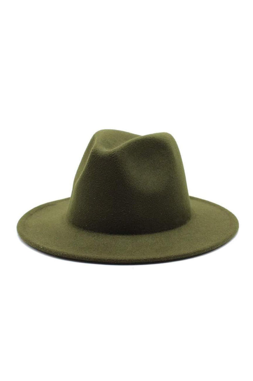 MOUNTAINSIDE ADVENTURES OLIVE FELT HAT