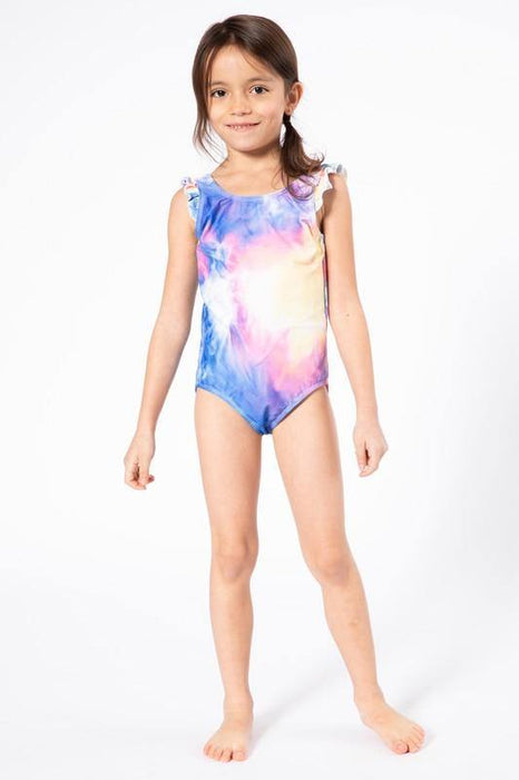 BIRDIES TIE DYE SWIM SUIT