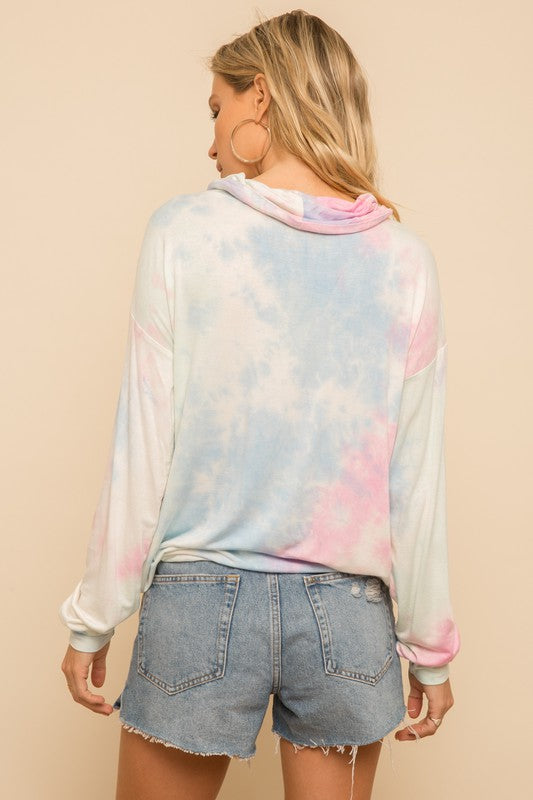 ON THE WAVES COTTON CANDY PULLOVER