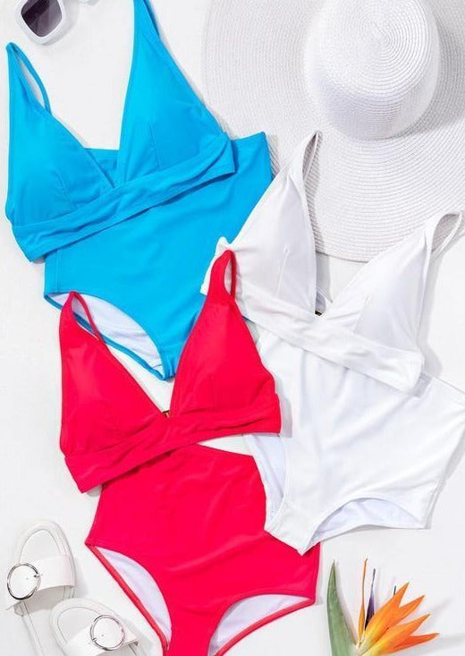 Beach Bod Swim Suit | Red - shopbellabird