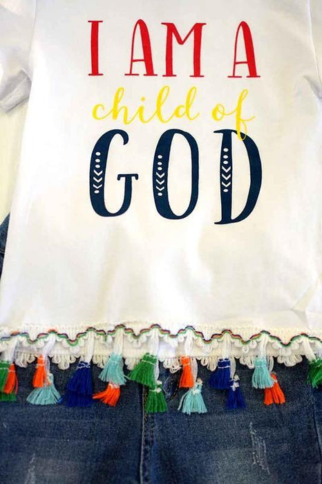 BIRDIES I AM A CHILD OF GOD OUTFIT