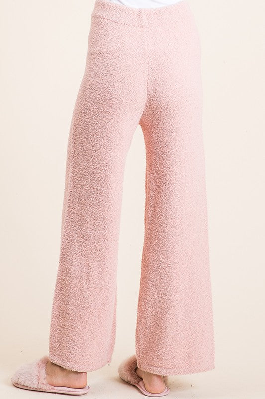 LOUNGE WITH ME EXTREME SOFT COZY BLUSH BOTTOMS