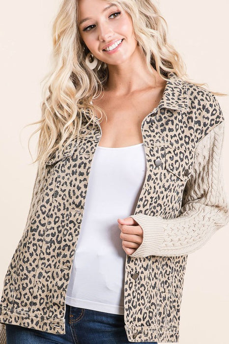 BUILT FROM NOTHING CABLE AND CHEETAH JACKET