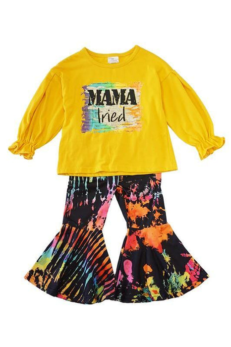 BIRDIES MAMA TRIED OUTFIT SET
