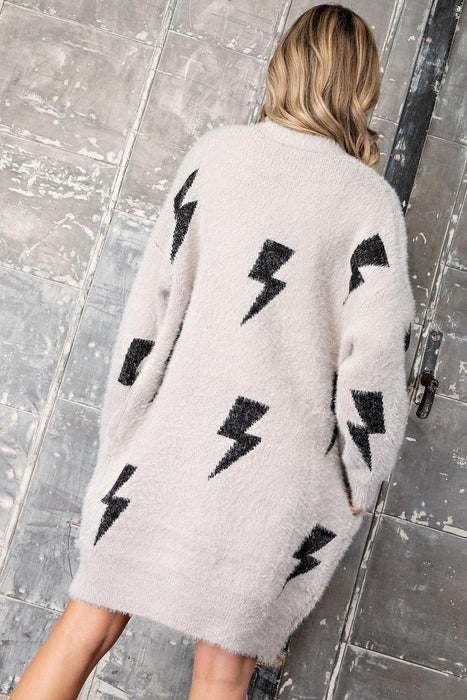 CONSTANT MAGIC LIGHTNING BOLT SWEATER