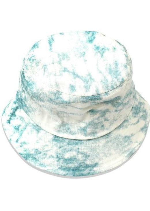 Bucket Hat Babe | Tie Dye Blue - shopbellabird