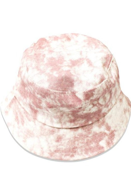 Bucket Hat Babe | Tie Dye Pink - shopbellabird