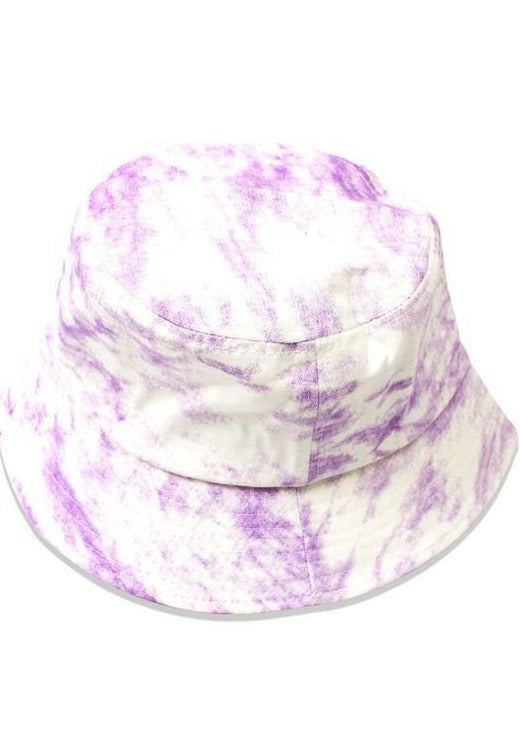 Bucket Hat Babe | Tie Dye Purple - shopbellabird