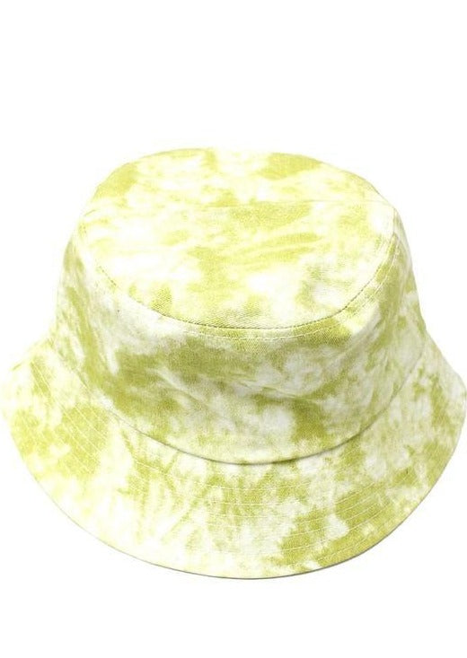 Bucket Hat Babe | Tie Dye Yellow - shopbellabird