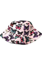 Bucket Hat Babe | Pink Butterfly - shopbellabird