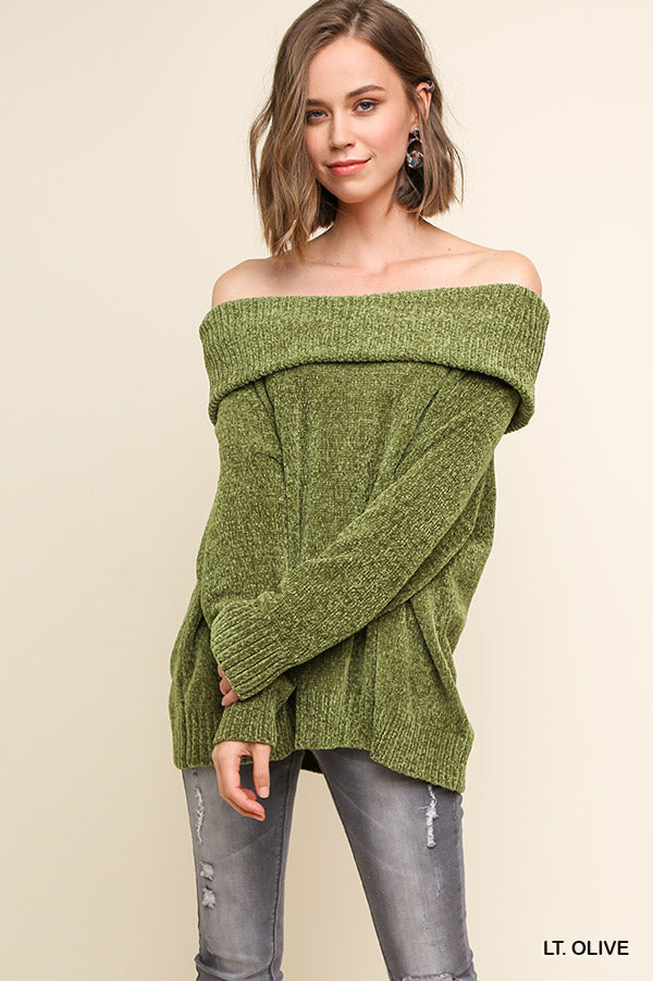 WRAPPED IN WARMTH KNIT SWEATER