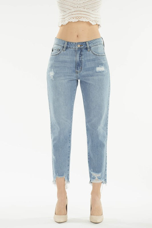 KANCAN TAKE ME BACK HIGH RISE DENIM JEANS