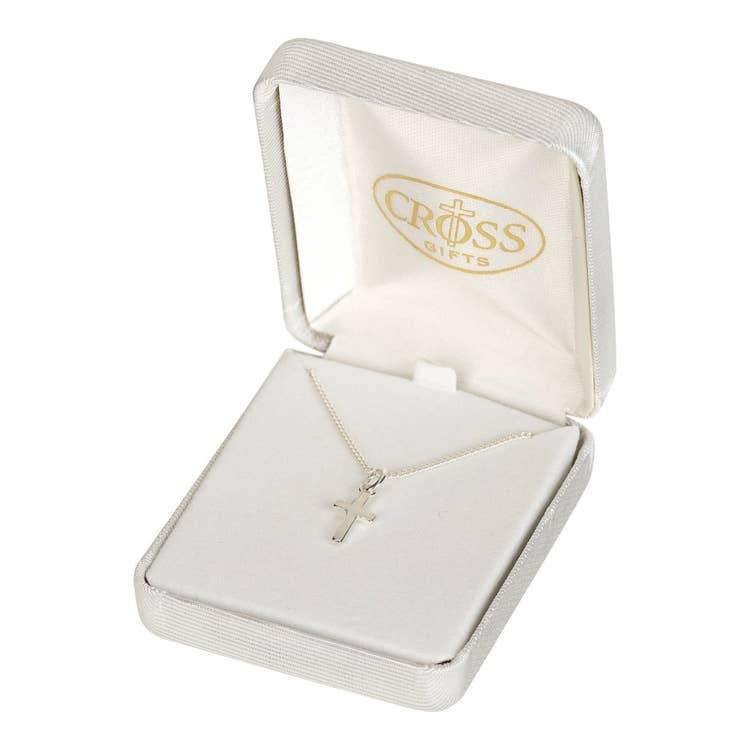 CROSS SILVER PLATE NECKLACE GIFT SET