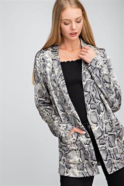 WILD FOR NEW YEAR BLAZER
