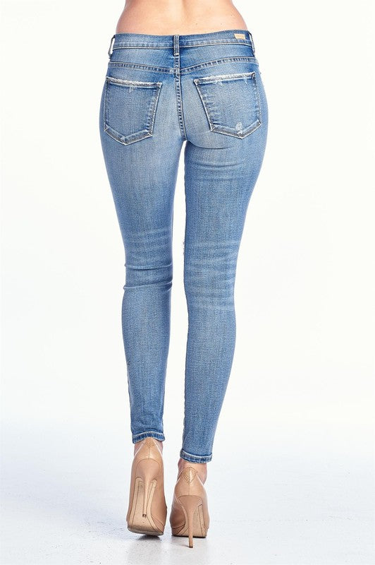 HOLY MOLY, BLUE JEAN BABY SKINNY JEANS