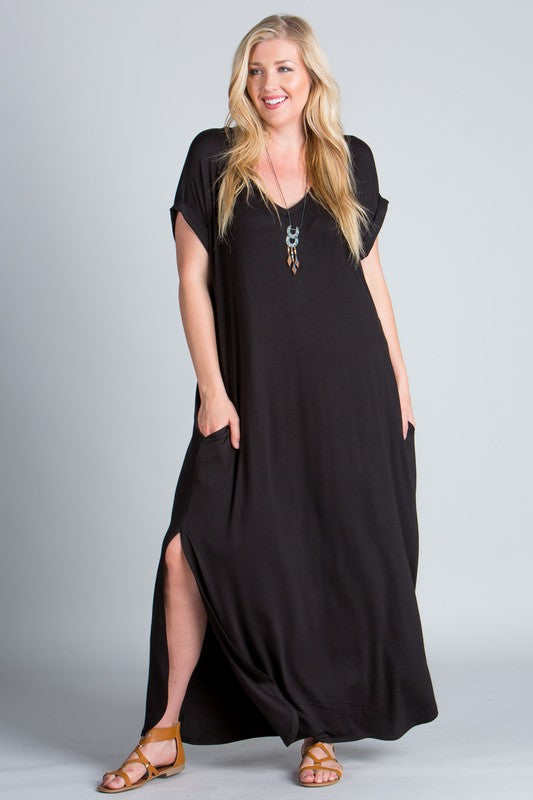 PLUS I KNOW IT'S PERFECT MAXI DRESS