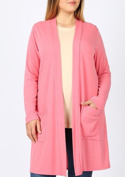 curvy be phenomenal light spring cardigans