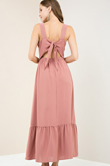 CALL ME LATER RUFFLE DRESS