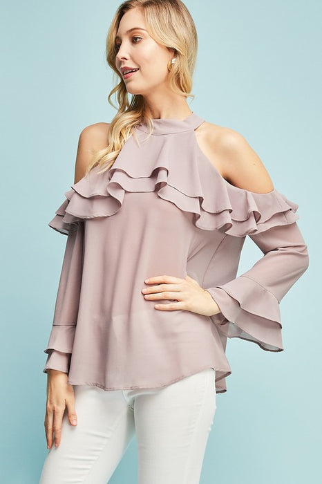 FOR MY SWEETHEART RUFFLE TOP